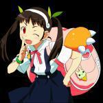 Mayoi Hachikuji (Backpack on)
