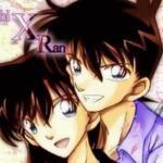 """Shinichi """"Conan"""" Kudou x Mouri Ran"""