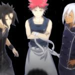 Kurikiba vs Yukihira vs Hayama