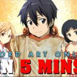 SAO in 5 minutes