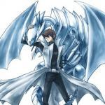 Seto Kaiba x Blue eyes white dragon