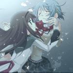 Homura Akemi x Sayaka Miki