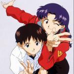 Misato Katsuragi x Shinji Ikari