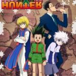 Gon, Killua, Kurapika, and Leorio