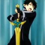 King Kirito. The only one worthy to pull Excalibur