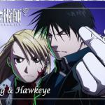 Roy Mustang and Riza Hawkeye - FMAB