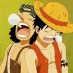 Luffy & Ussop - One Piece