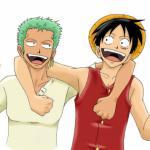 Luffy and Zoro - One Piece