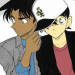 Shinichi Kudo & Heiji Hattori - Detective Conan