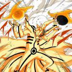 Naruto Uzumaki - Asura Kurama With Bijuudama Rasenshuriken