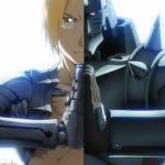 Edward and Alphonse Elric -Fullmetal Alchemist Brotherhood