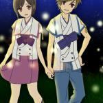Satoru Asahina & Saki Watanabe