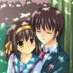 Haruhi Suzumiya & Kyon