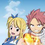 Natsu Dragneel and Lucy Heartfilia