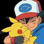 Satoshi and Pikachu