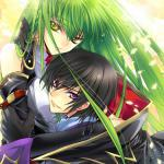 Lelouch Vi Brittania and C.C.