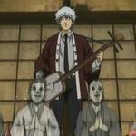 Gintoki's singing