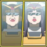 Team Dental Hygiene (Nakayama-san & Battle Fairy Shazzan)