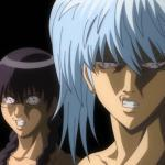 Gintoki and Shinpachi