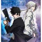 Shougo Makishima and Shinya Kogami