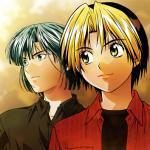 Shindo Hikaru and Toya Akira