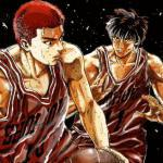 Sakuragi and Rukawa