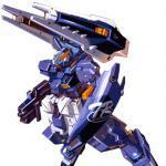 """RX-121-2A Gundam TR-1 """"Advanced Hazel"""""""